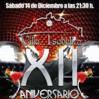 Aniversario Restaurante Villa Isabelica