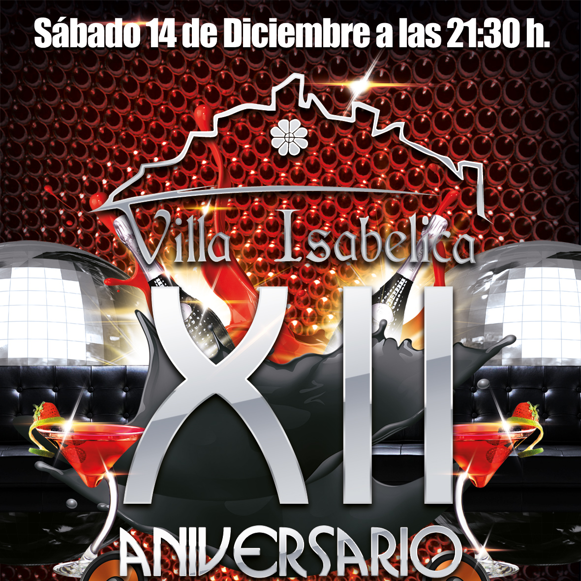 Fiesta XII Aniversario + Autobus